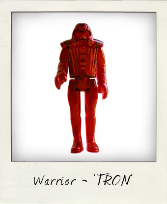 1982 TRON Warrior by TOMY