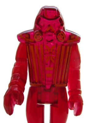 TRON Warrior - cast in translucent plastic
