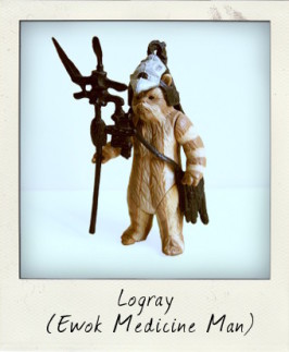 Logray the Ewok Medicine man