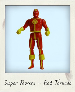 Let's twist again… with Kenner Super Powers Red Tornado!