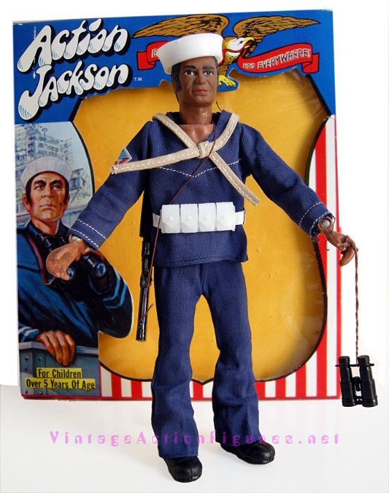 Action Jackson - Navy outfit