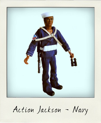 Action Jackson - Navy