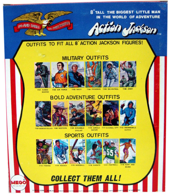 Action Jackson costumes