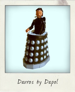 Davros, lord and creator of the Dalek race – by Dapol