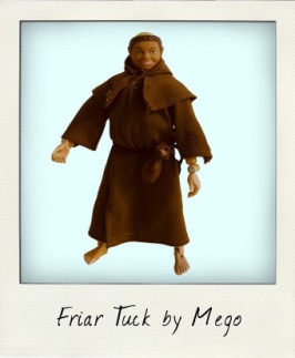 Friar Tuck: Robin Hood and his Merry Men by Mego