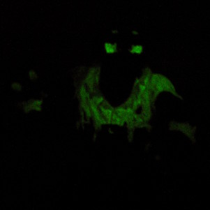 Glow in the dark effect