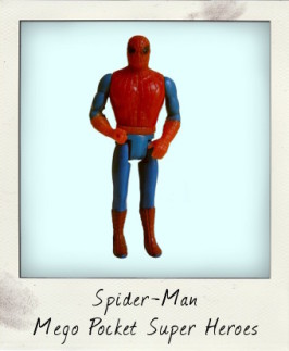 Spider-Man by Mego Pocket Super Heroes
