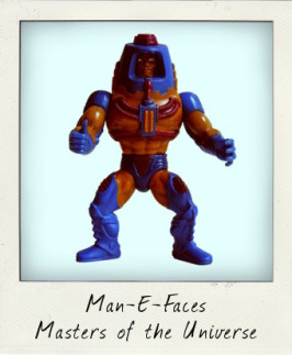 Heroic Human…Robot…Monster? It must be Man-E-Faces!