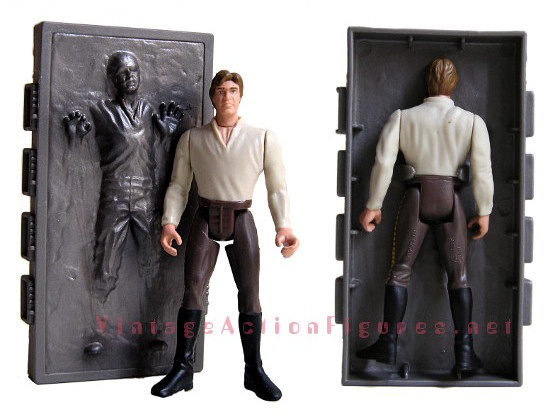 Han Solo and the Carbonite Block accessory