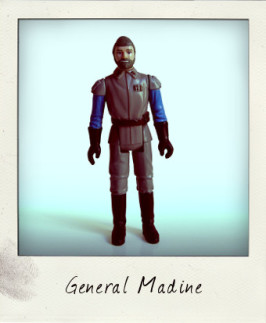 Green-haired General Madine variant figure