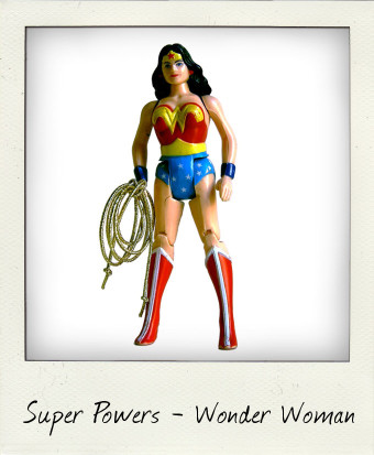 Wonder Woman the Amazing Amazon – Kenner Super Powers
