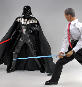 May the force be with Obama!
