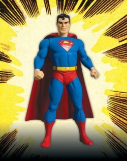 Superman action figure inspired by Jack Kirby