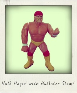 Hulk Hogan with Hulkster Slam!