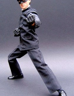 Bruce Lee in action as Kato with new Green Hornet figure