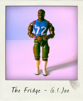 "Hasbro's William ""The Fridge"" Perry as G.I. Joe physical training instructor!"
