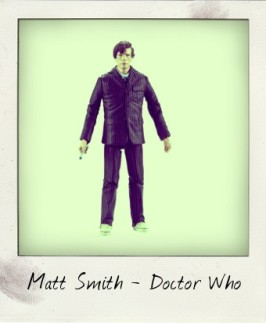 Matt Smith as the Eleventh Doctor action figure finally unveiled!
