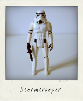 Star Wars variations: I lost my heart to a Star Wars Stormtrooper!