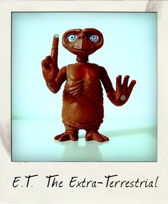 E.T. 20th Anniversary Interactive action figure