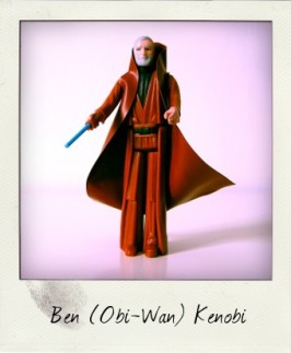 Grey-haired Ben (Obi-Wan) Kenobi
