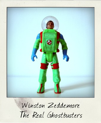 Winston Zeddemore – The Real Ghostbusters Super Fright Features