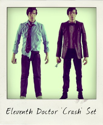 Matt Smith Eleventh Doctor Crash Set