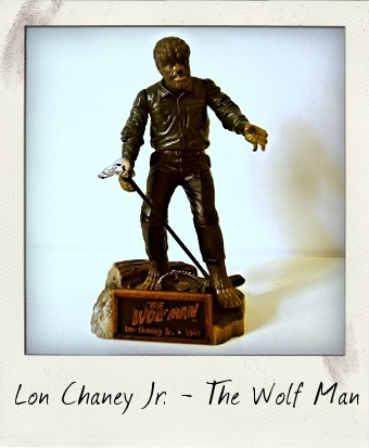 1998 Universal Studios Monsters Lon Chaney Jr. as The Wolf Man