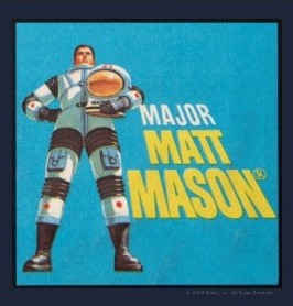 Major Matt Mason Logo T-shirt design
