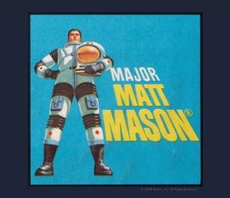 Major Matt Mason Logo T-shirt design