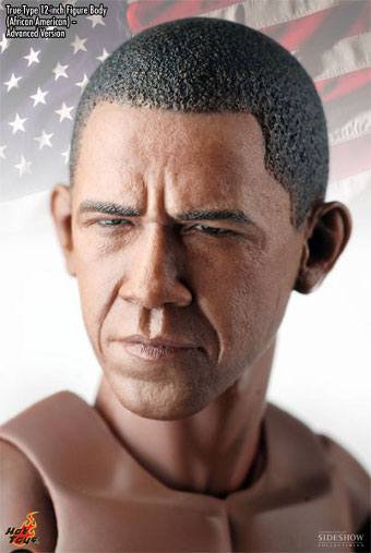 Obama True-Type head sculpt