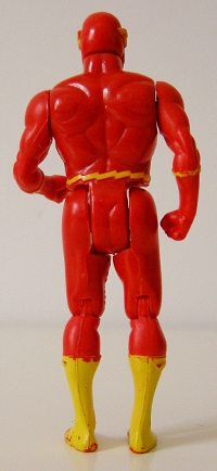 The Flash Super Powers - back view