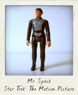 Spock Mego Star Trek Movie action figure