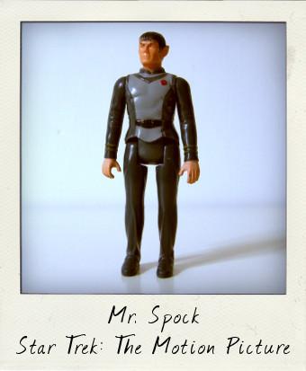 Spock Mego Star Trek Movie action figure
