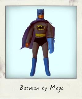 Mego Fist Fighting Super Heroes – Batman
