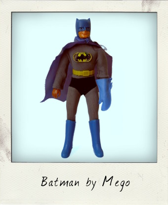 Mego Fist Fighting Super Heroes – Batman