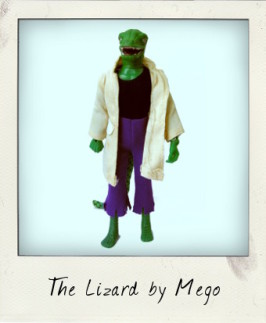 The Lizard: Mego and the World's Greatest Super Heroes…and Villains!