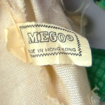 MEGO copyright information and COO