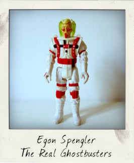 The Real Ghostbusters Super Fright Features: Egon Spengler