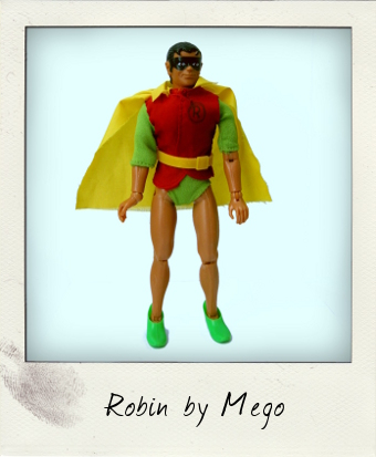 Fist Fighting Robin by Mego