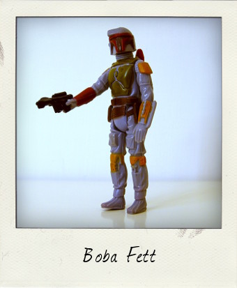 Boba Fett - 1979 vinatge action figure by Kenner