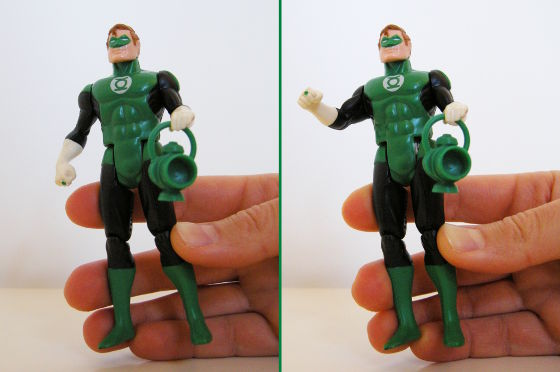 Green Lantern Super Power action