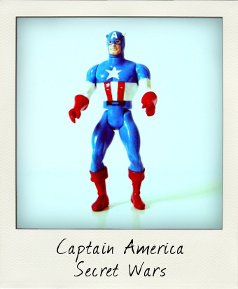 Marvel Secret Wars - Captain America by Mattel