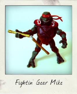 Cowabunga! It's Fightin' Gear Michelangelo!