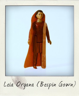 Princess Leia Organa in Bespin Gown