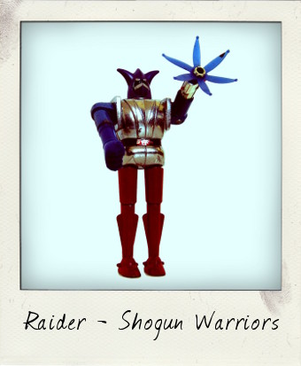 Shogun Warriors Raider