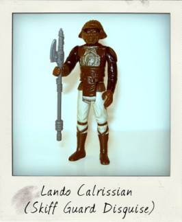 Lando Calrissian in Skiff Guard Disguise