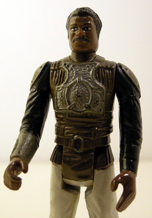 Lando Calrissian in Skiff Guard Disguise - detail