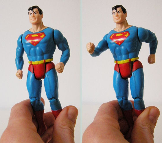 Superman Super Power action feature
