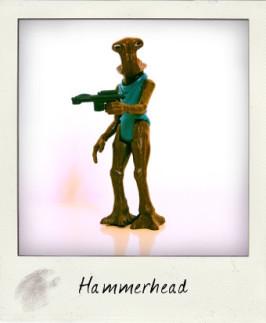 1978 vinatge Hammerhead by Kenner