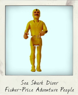 Sea Shark Diver from the Fisher-Price Adventure People